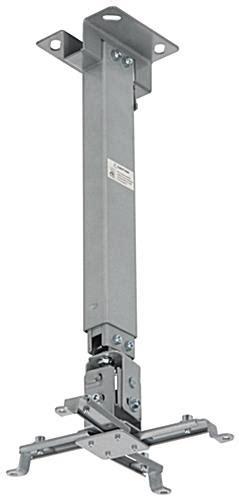 vaulted ceiling projector mount adjustable steel bracket