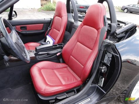 bmw red interior red interior 1998 bmw z3 2 8 roadster photo 54715726