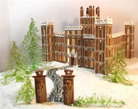 downton abbey gingerbread style   downton abbey
