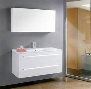 Grand Meuble Salle De Bain : salle de bain meuble meuble megeve grand meuble sans vasque de salle de bain contemporain ~ Teatrodelosmanantiales.com Idées de Décoration