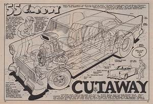 The Amazo Effect  The Cutaway Diagram Files   U0026 39 55 Chevy Hot Rod