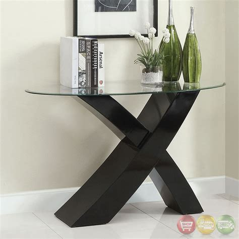 Gold & black nesting coffee tables: Xtres Contemporary Black Accent Tables with High Gloss ...