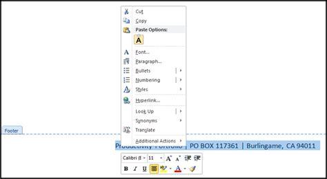 create  word letterhead template productivity portfolio