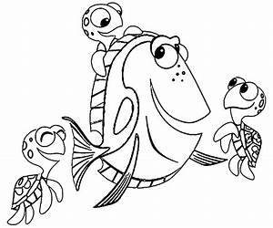Finding Nemo Coloring Pages | Wecoloringpage