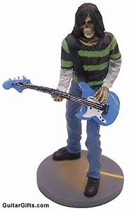 MUSIC GIFTS Bass Guitar Skeleton Rock Bass Player