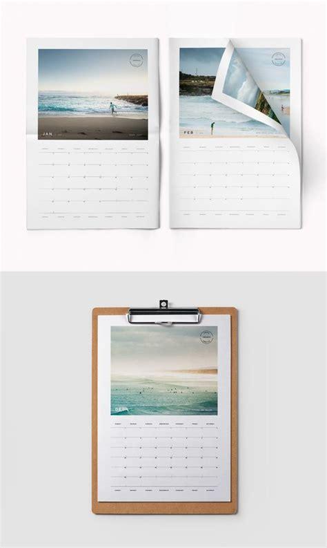 printable photo calendar indesign template