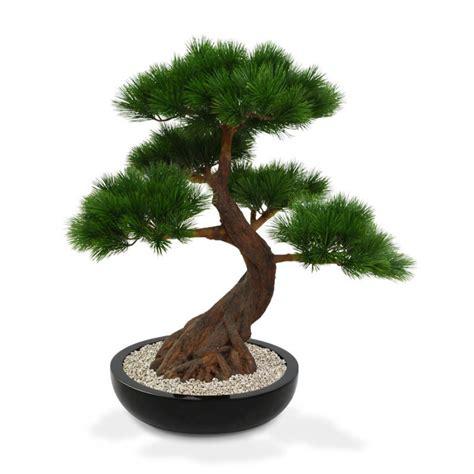artificial bonsai tree artificial pinus bonsai tree x5 deluxe 80 cm on base
