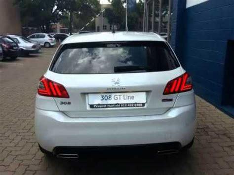 peugeot 308 gti white 2015 peugeot 308 gt line 1 2 puretech auto for sale on