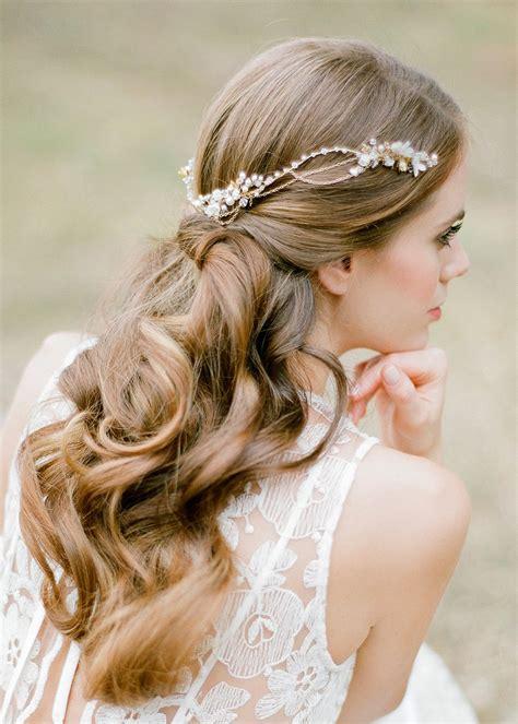 REIGN | Gold Bohemian Wedding Headpiece - TANIA MARAS ...