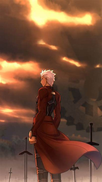 Fate Archer Stay Night Unlimited Blade Anime