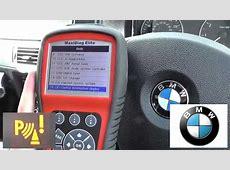 BMW PDC Fault Diagnose & Reset Parking Sensor Warning