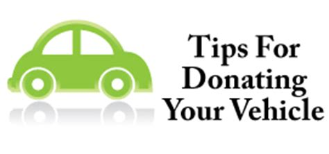 Car Donation Tips by Tips For Charitable Giving