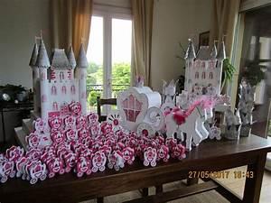 Decoration Pour Bapteme Fille : deco bapteme princesse ~ Mglfilm.com Idées de Décoration