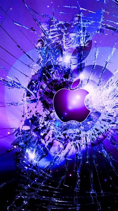 Iphone Cool Parede Papel Quebrada Tela Mac