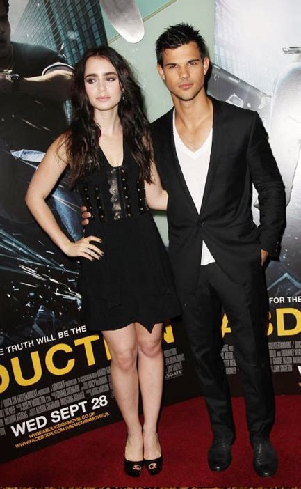 Taylor Lautner and Lily Collins Reunited - Our Teen Trends