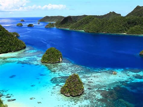 raja ampat haven eye beautiful hd wallpaper blue ocean