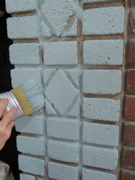 how to paint bricks on a wall painted brick fireplace makeover how tos diy