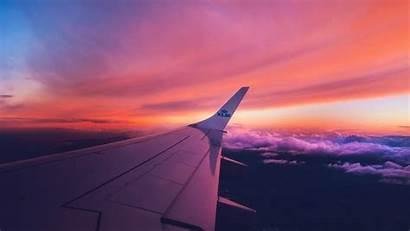 Airplane Wing Flight 4k Desktop