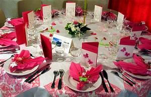 DECORATION DE TABLE POUR MARIAGE Decoration Home 2016