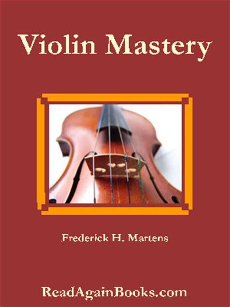 violin mastery talks  master violinists  teachers