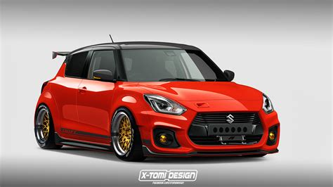 How About A Slammed Widebody Suzuki Swift Sport Modjob