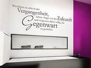 Wandtattoo Bad Günstig : wandtattoo wir leben zu sehr spruch von ~ Markanthonyermac.com Haus und Dekorationen