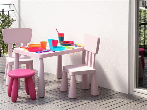 table et chaise de salon salon de jardin pour enfants du mobilier comme les grands joli place