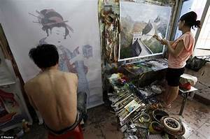 Dafen Oil Painting Village where thousands of artists ...