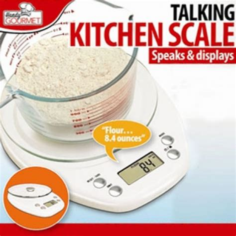 Talking Kitchen by Talking Kitchen Scale As Seen On Tv