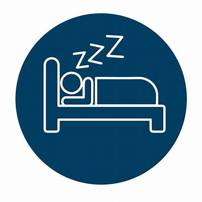 Sleep Zzzz Problems Pulmonary Associates Icon Social