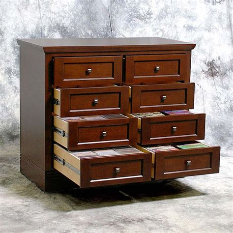 dvd cabinet with drawers cd dvd media drawer cabinet for the home pinterest