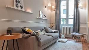 deco pour un salon cosy With meuble salon noir et blanc 4 5 piaces 5 couleurs ambiancez votre interieur maison