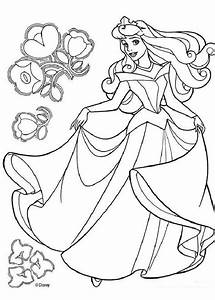 Princess aurora dancing coloring pages - Hellokids.com
