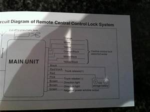 Universal Central Locking Diagram Help - Passionford