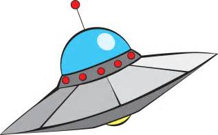 Cartoon Alien Spaceship Clip Art