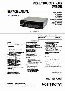 Sony Mex Bt2600 Wiring Diagram