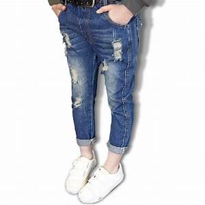 Aliexpress.com  Buy 2016 Kids boys girls jeans pants autumn fashion designer jeans boy girl ...