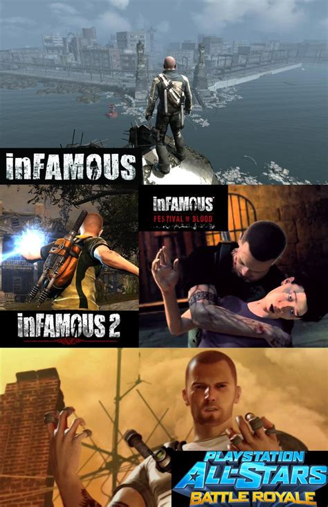 Infamous Series Cole Macgrath Story By Thepuppetreturns