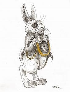 The White Rabbit by hayleymerrington on DeviantArt