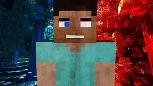 Steve Is Herobrine Minecraft Wallpaper By AlpinesGraphics