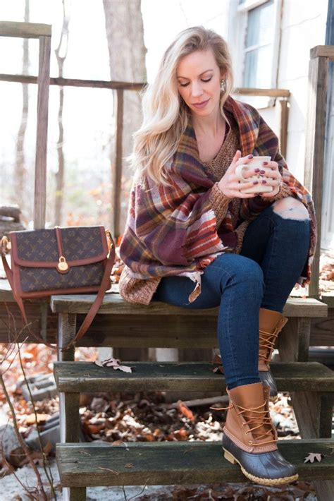 Cabin In The Woods Oversized Sweater Distressed Denim