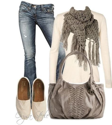 Comfy and Cute! #gray #Fall #outfits - Click ... | Fashion ...