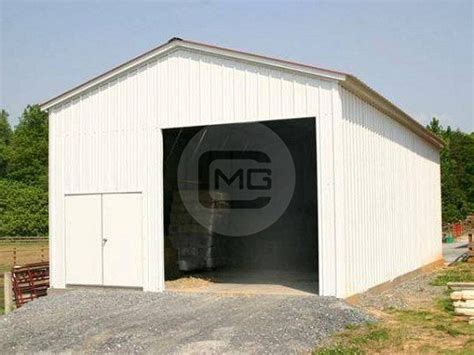 Preengineered Steel Garage  24x36x14 Vertical Roof Garage