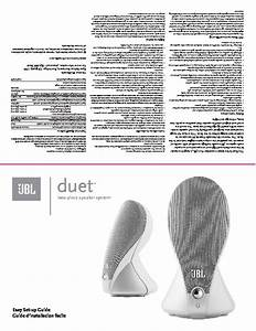 Jbl Duet User Guide    Operation Manual  U2014 View Online Or
