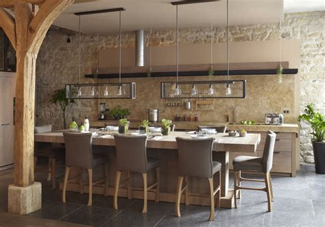 cuisine et salon ouvert cuisine ouverte sur salon photos simple gallery of idee