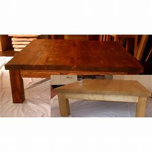 very large and chunky rustic square coffee table folksy With very large square coffee tables