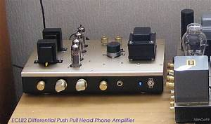 Ecl82  6bm8 Differential Push Pull Head Phone Amplifier D I Y