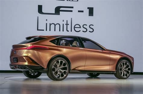 Lexus Lf1 Limitless Concept Suv Exclusive First Look