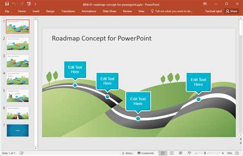 roadmap templates  powerpoint