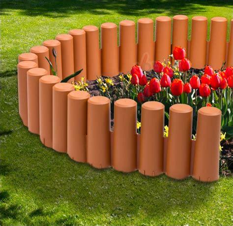 bordure bordurette de jardin plastique 2700 mm 10 pc jardin entretien